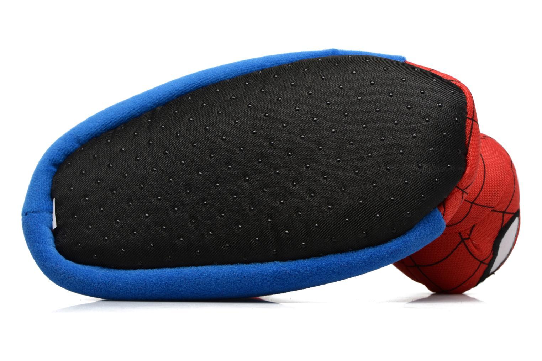 Hausschuhe Spiderman S24967 Spiderman blau ansicht von oben