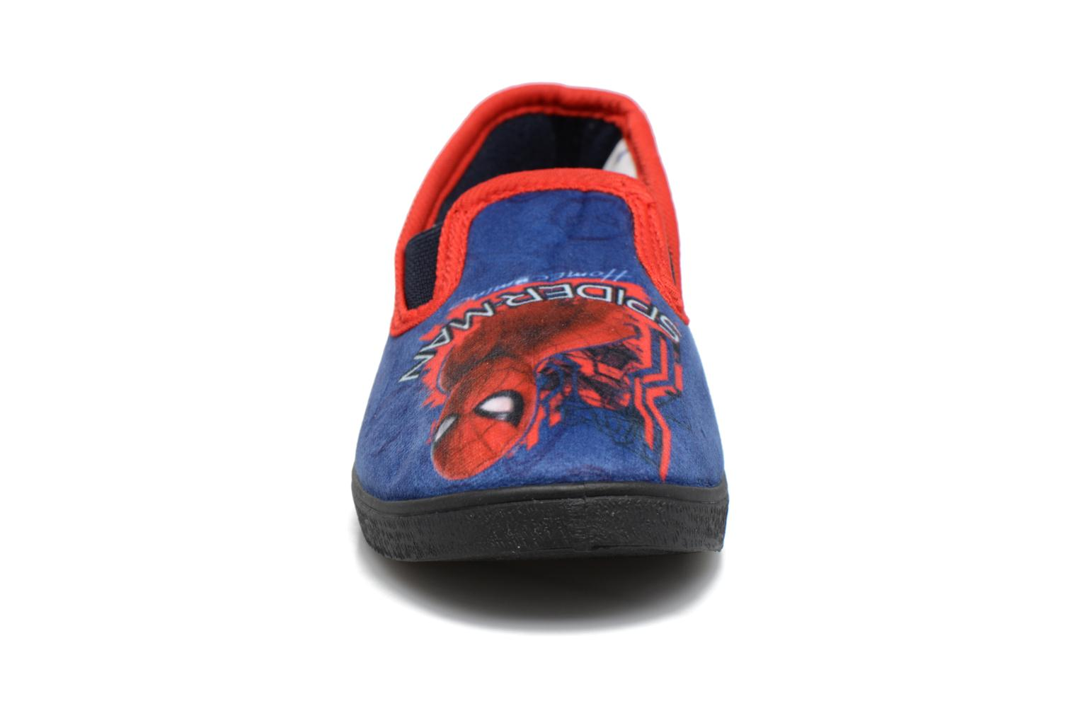 Slippers Spiderman Spencer Blue model view