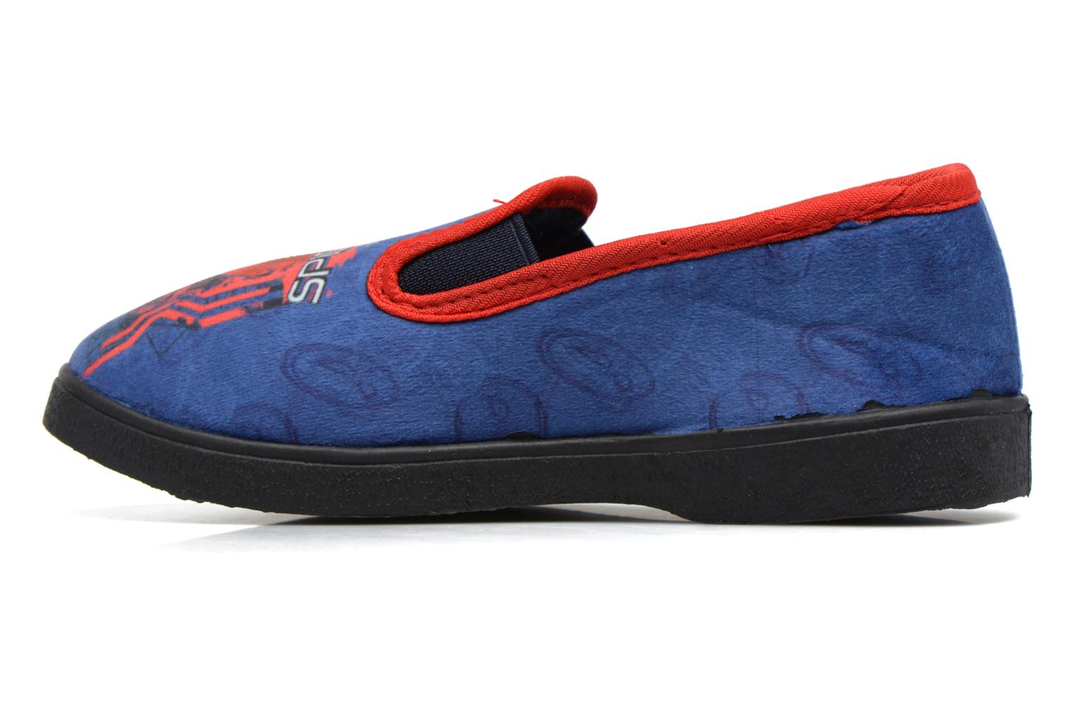 Slippers Spiderman Spencer Blue front view