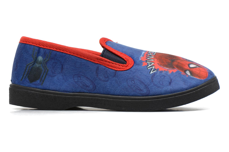 Pantoffels Spiderman Spencer Blauw achterkant