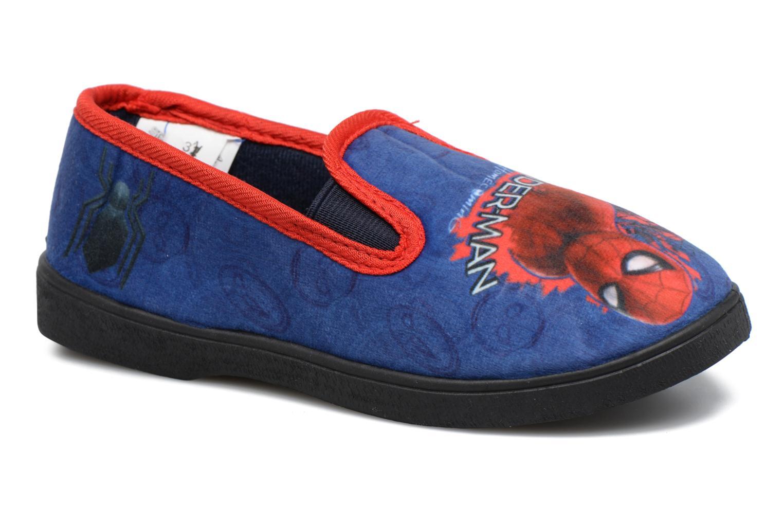 Chaussons Spiderman Spencer Bleu vue détail/paire