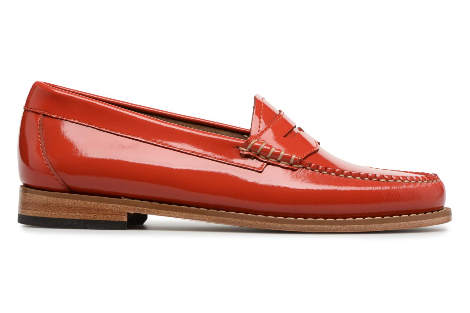 Loafers G.H. Bass Weejun WMN Penny Wheel Orange back view