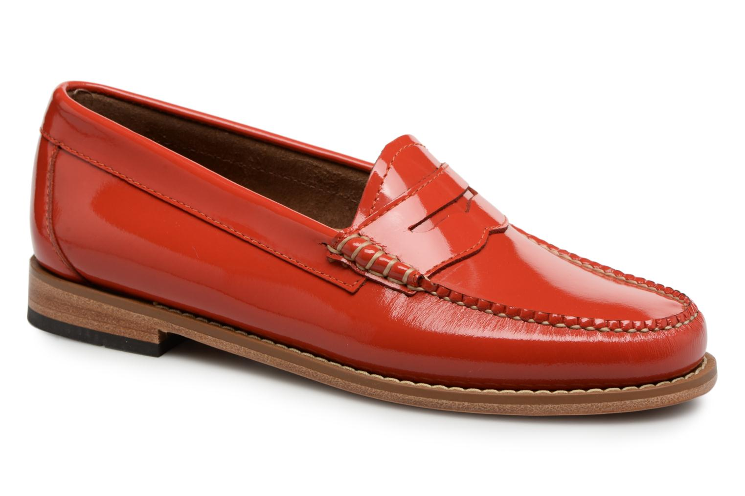 Loafers G.H. Bass Weejun WMN Penny Wheel Orange detailed view/ Pair view