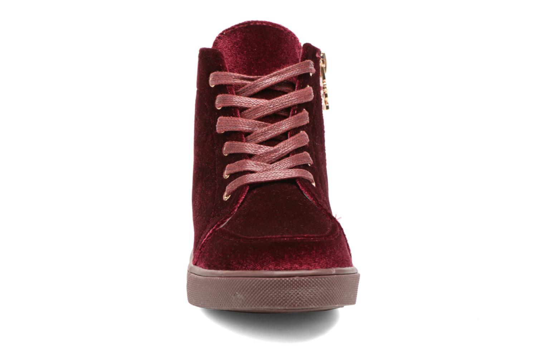 Sneaker Xti 55089 weinrot schuhe getragen