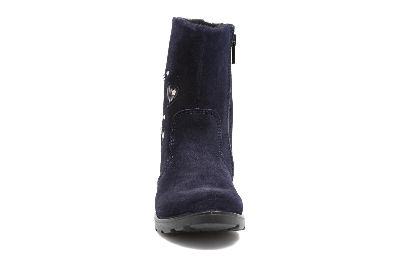 Bottes Ricosta Steffi Bleu vue portées chaussures
