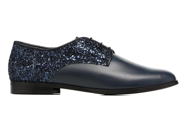 Chaussures à lacets Georgia Rose Louma Bleu vue derrière
