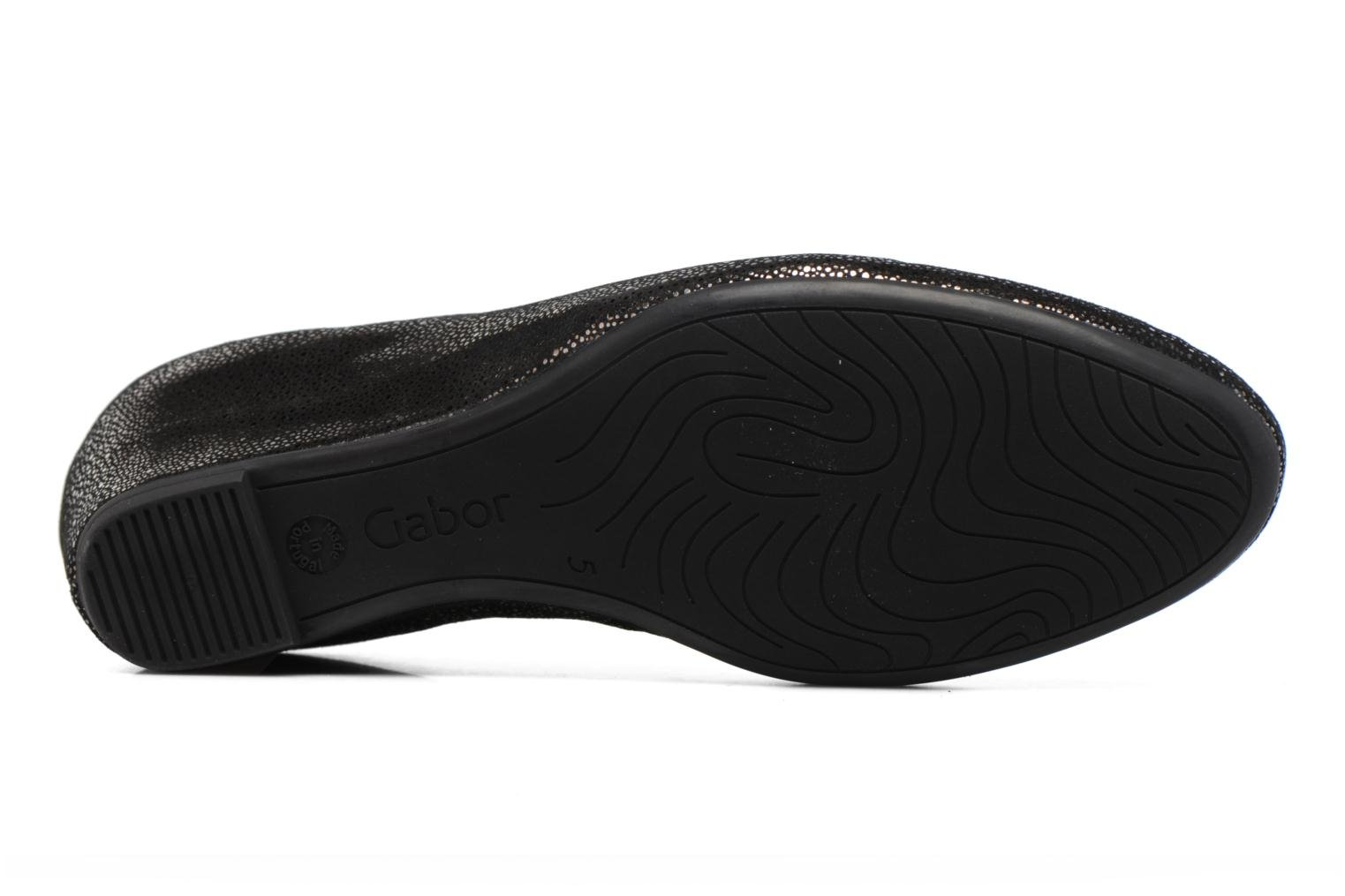Ballet pumps Gabor Stellana Black view from above