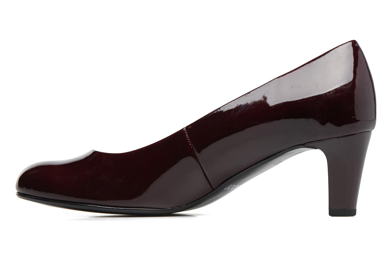 Zapatos de tacón Gabor Sofie Vino vista de frente