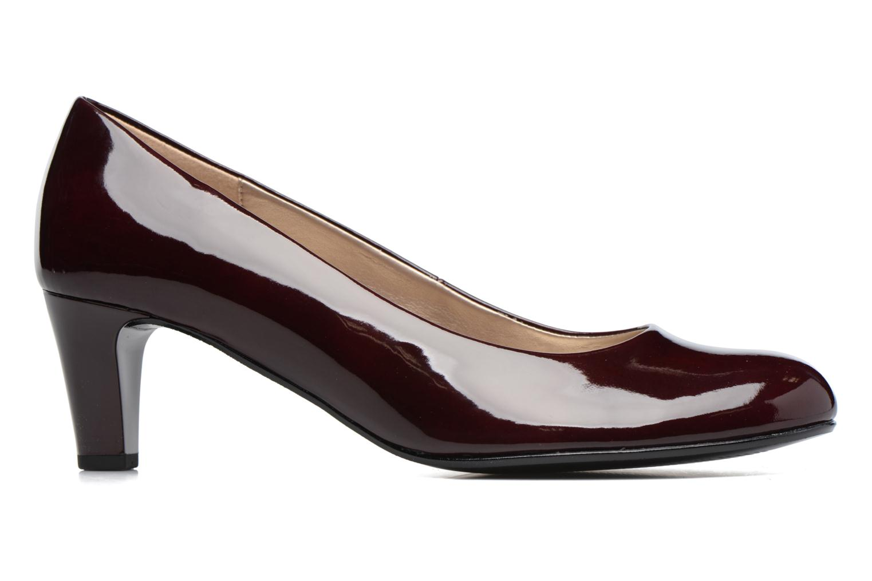 High heels Gabor Sofie Burgundy back view