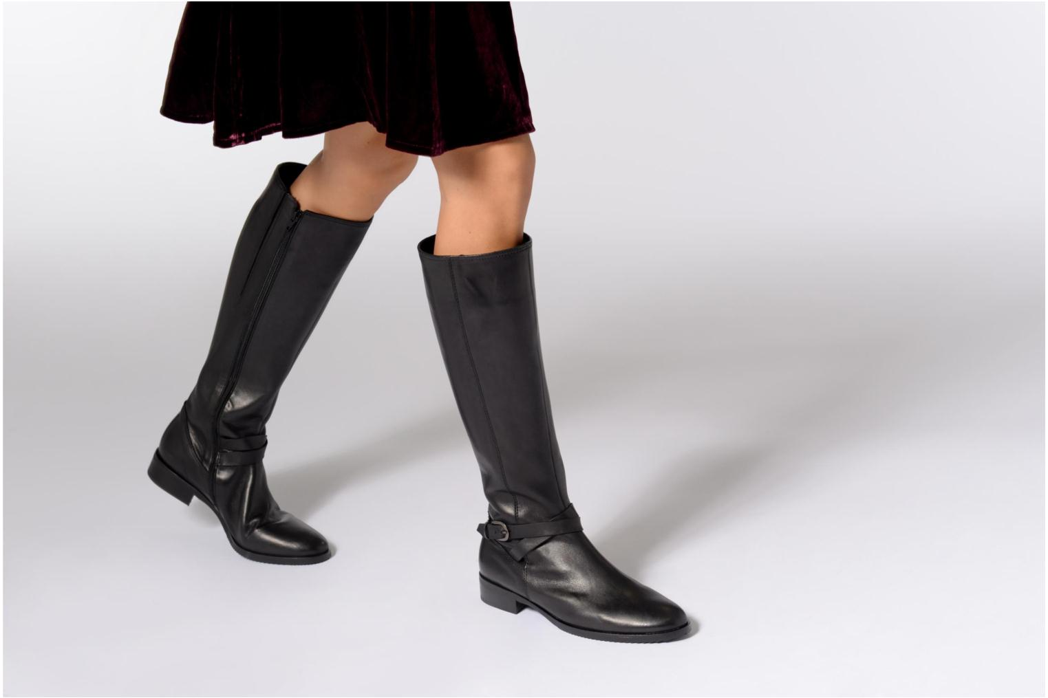 Boots & wellies Gabor Lisa Black view from underneath / model view
