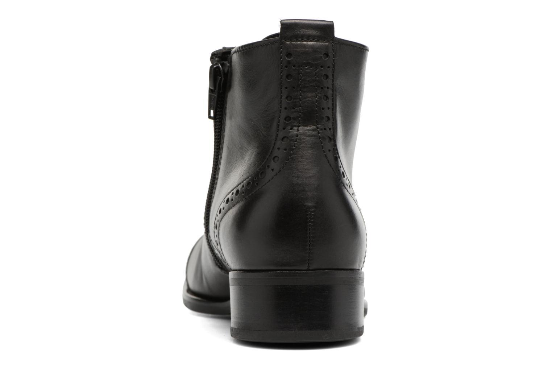 Bottines et boots Gabor Alina Noir vue droite