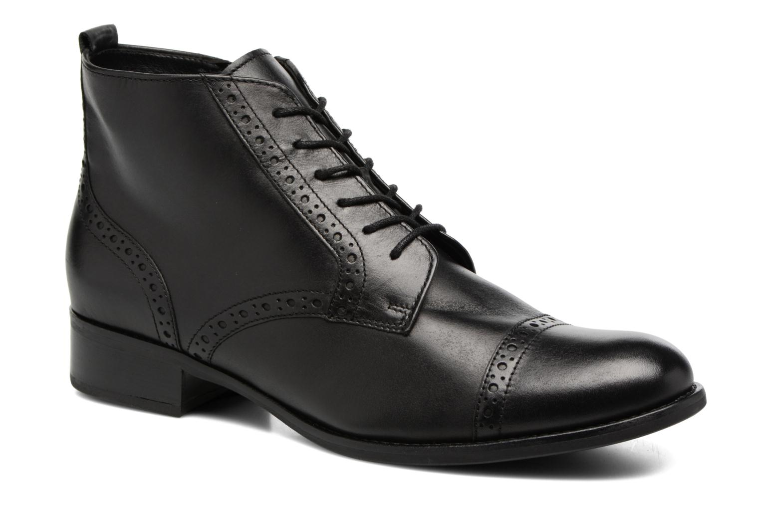 Ankle boots Gabor Alina Black detailed view/ Pair view