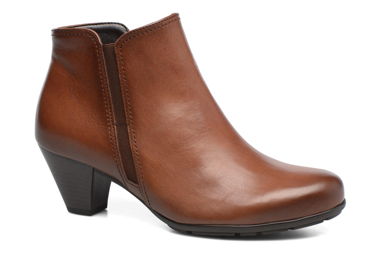 Bottines et boots Gabor Nikita Marron vue détail/paire