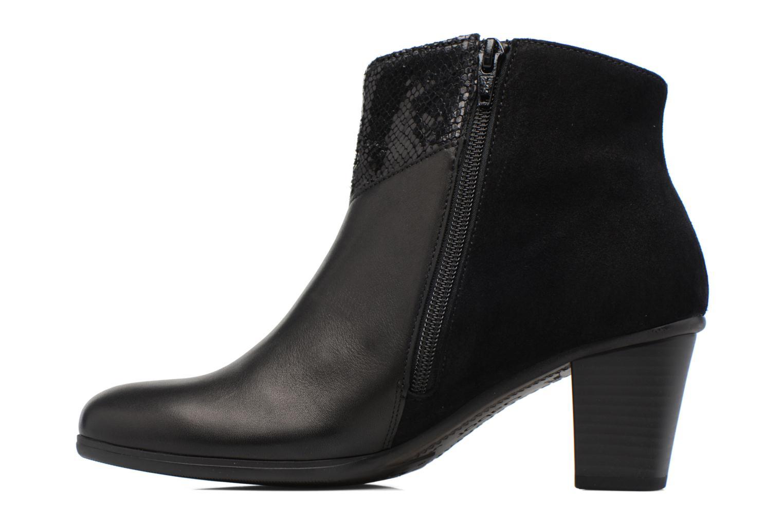 Bottines et boots Gabor Piana Noir vue face