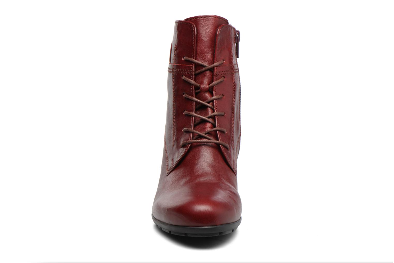 Ankle boots Gabor Fiona Red model view