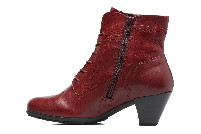 Stiefeletten & Boots Gabor Fiona rot ansicht von vorne