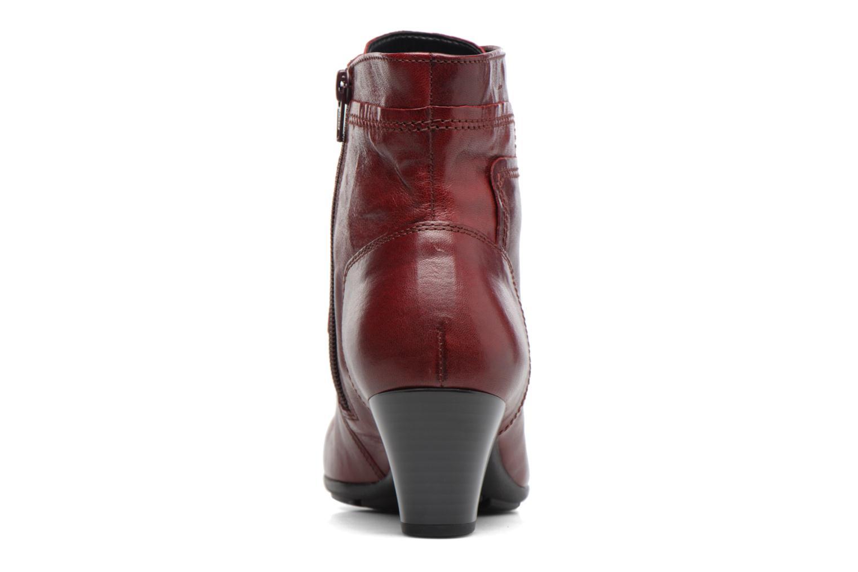 Stiefeletten & Boots Gabor Fiona rot ansicht von rechts