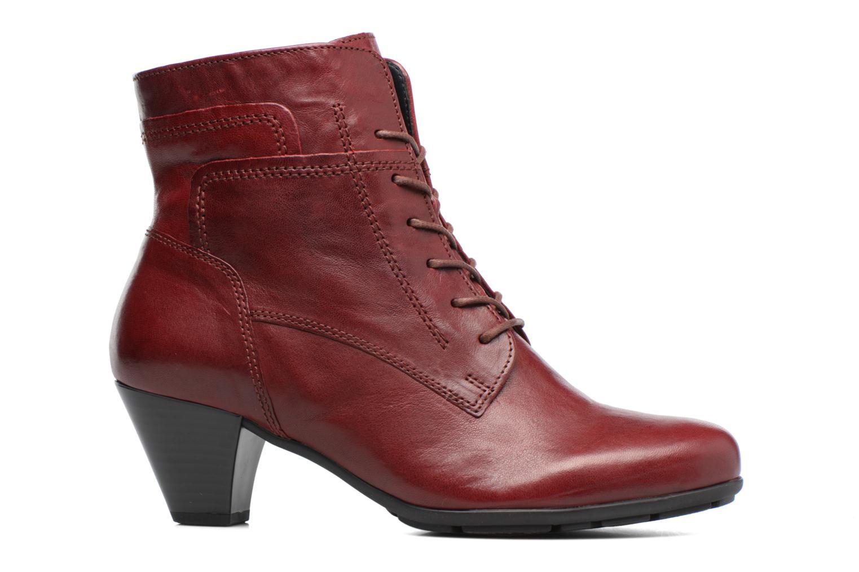Stiefeletten & Boots Gabor Fiona rot ansicht von hinten