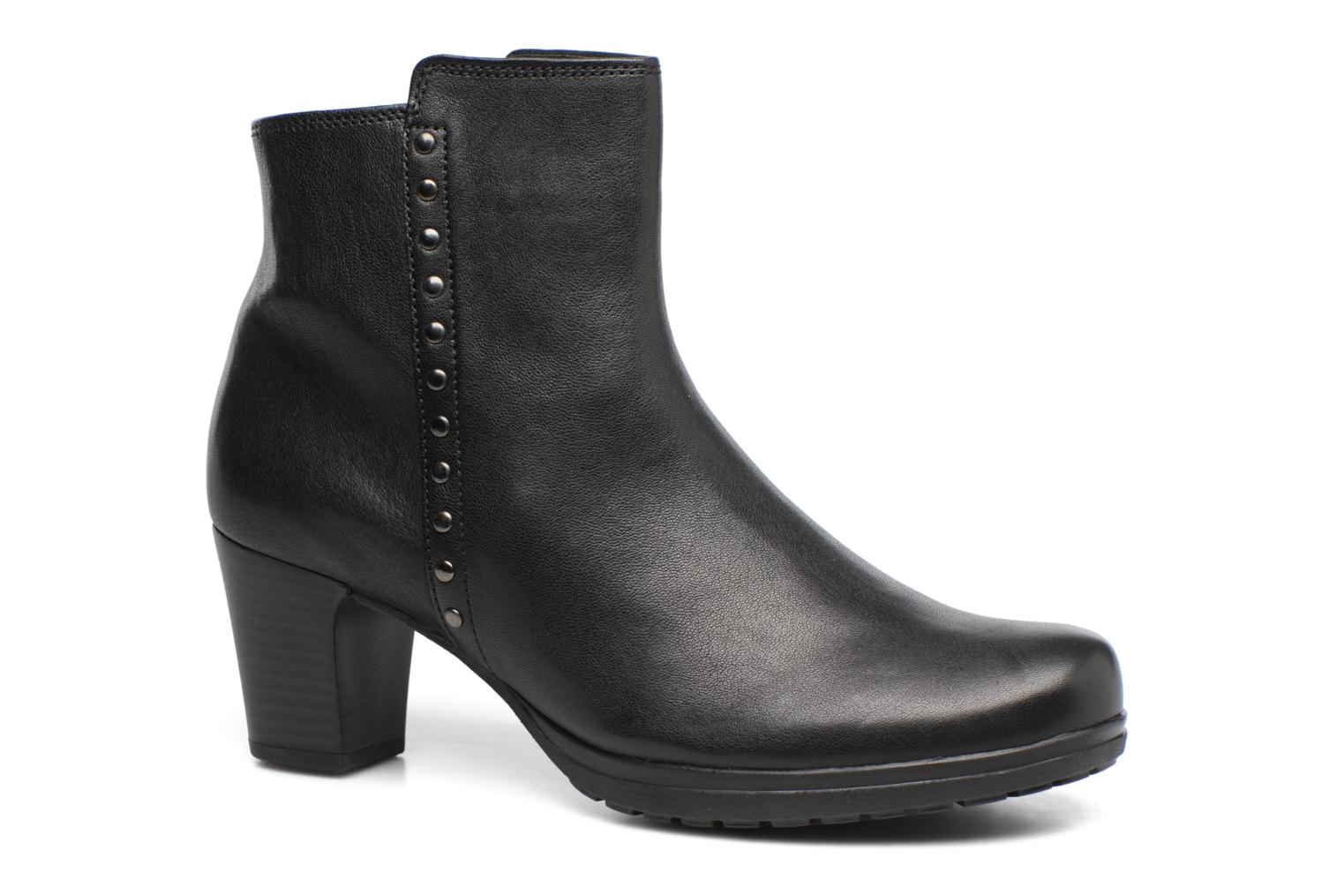 Ankle boots Gabor Antonia Black detailed view/ Pair view