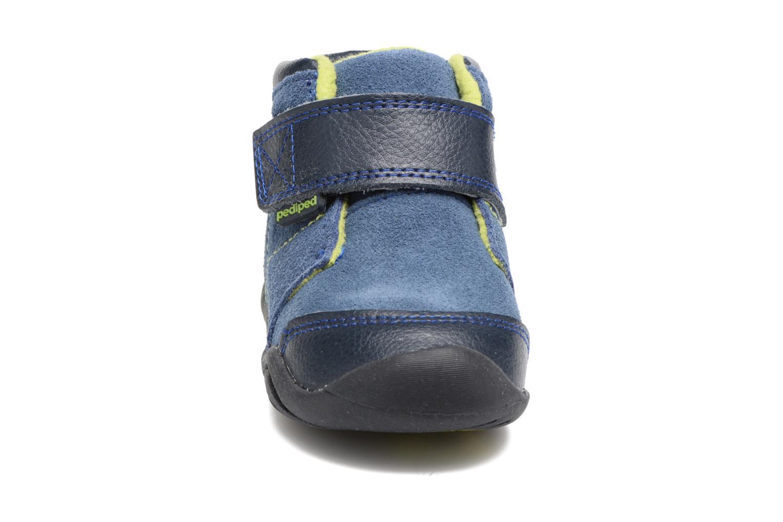Bottines et boots Pediped Troy Bleu vue portées chaussures