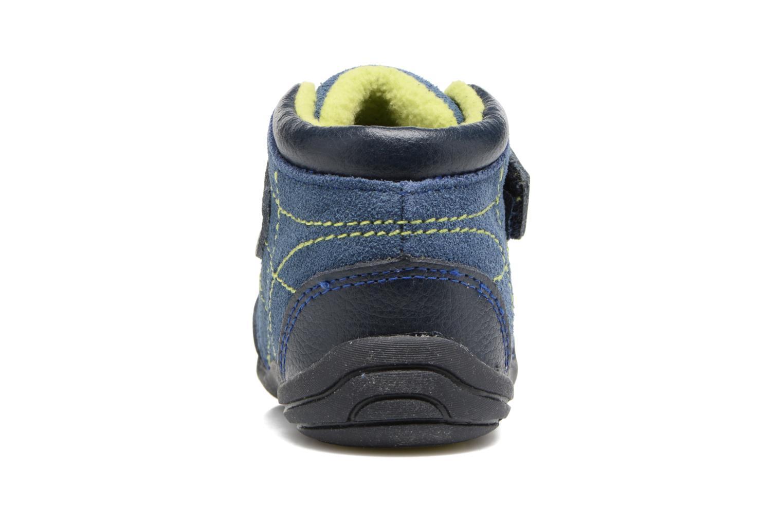 Bottines et boots Pediped Troy Bleu vue droite