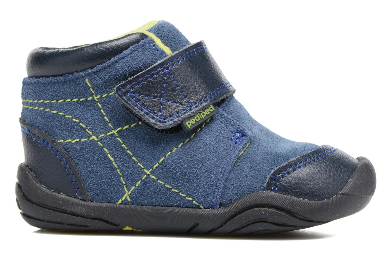 Bottines et boots Pediped Troy Bleu vue derrière