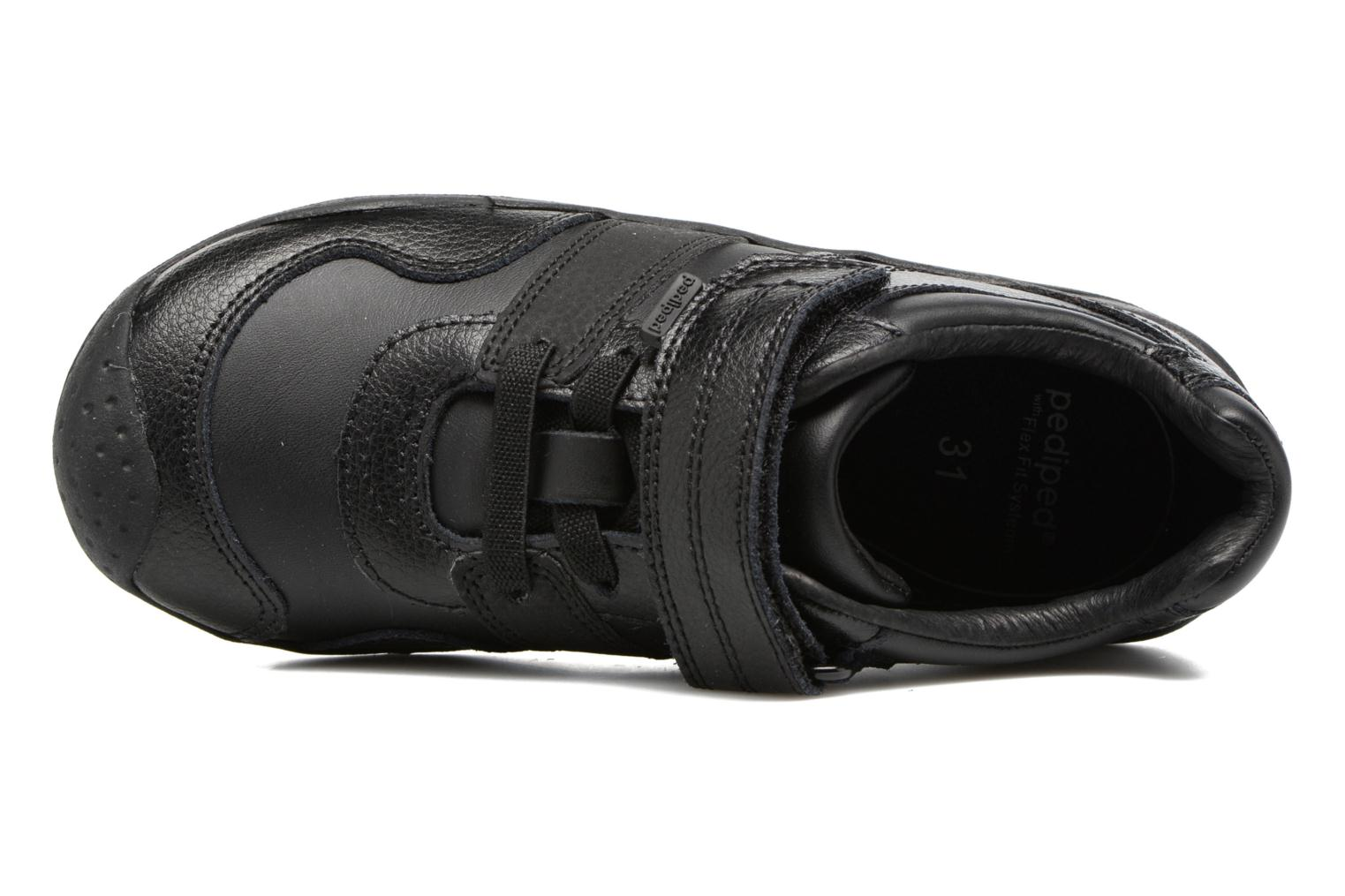 Trainers Pediped Channing Black view from the left