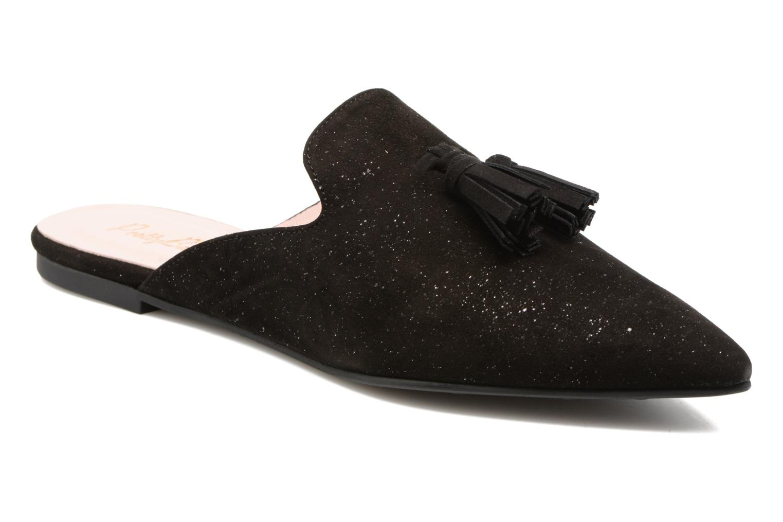 Mules & clogs Pretty Ballerinas Cyara Black detailed view/ Pair view