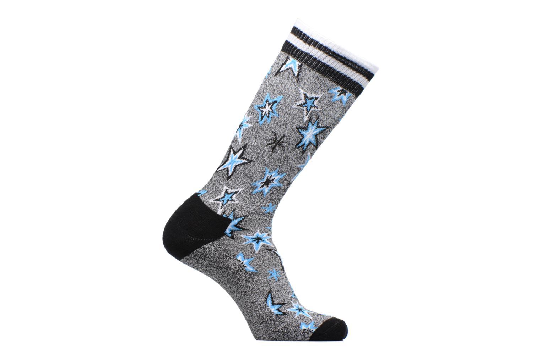 Sokken en panty's Happy Socks Athletic Bang Bang Chaussettes Hautes Grijs detail
