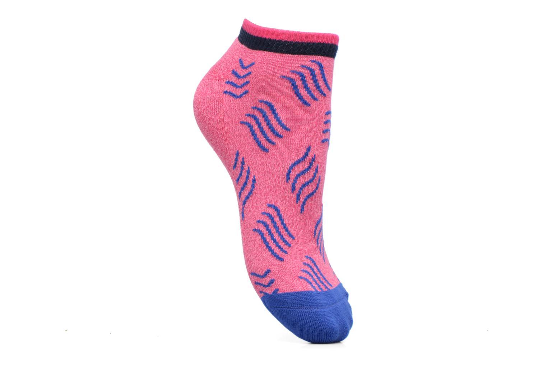 Medias y Calcetines Happy Socks Athletic Microwave Low Rosa vista de detalle / par