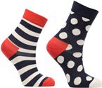 Lot de 2 Chaussettes Stripe Kids