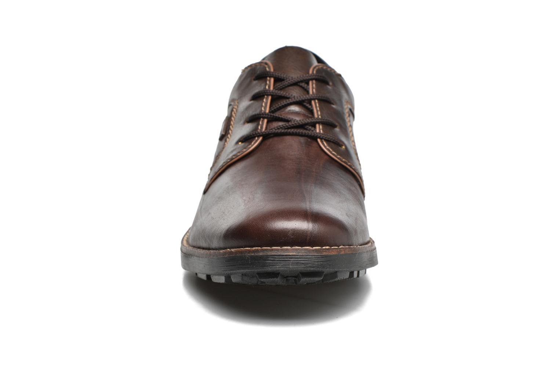 Chaussures à lacets Rieker Benj 16024 Marron vue portées chaussures