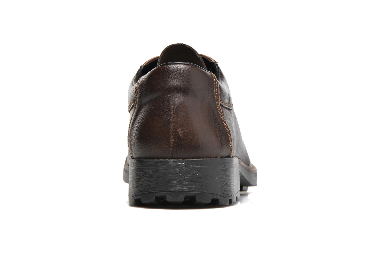 Chaussures à lacets Rieker Benj 16024 Marron vue droite