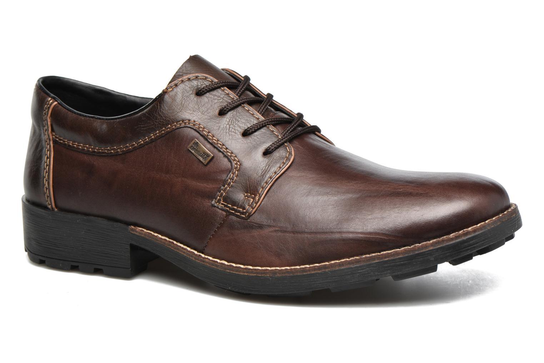 Chaussures à lacets Rieker Benj 16024 Marron vue détail/paire