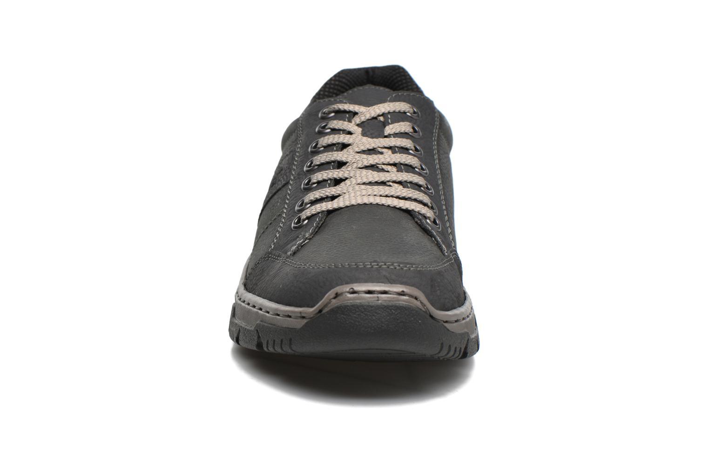 Baskets Rieker Leopold 16921 Gris vue portées chaussures