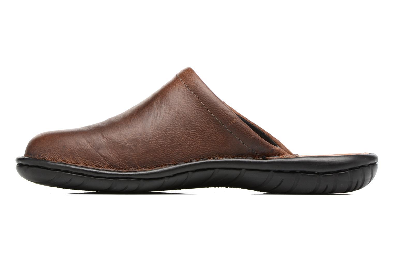 Pantofole Rieker Paul 26596 Marrone immagine frontale