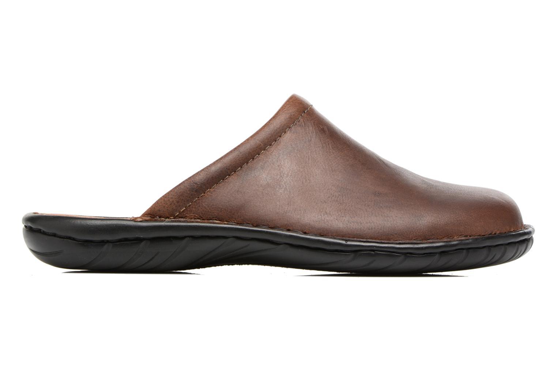 Pantofole Rieker Paul 26596 Marrone immagine posteriore
