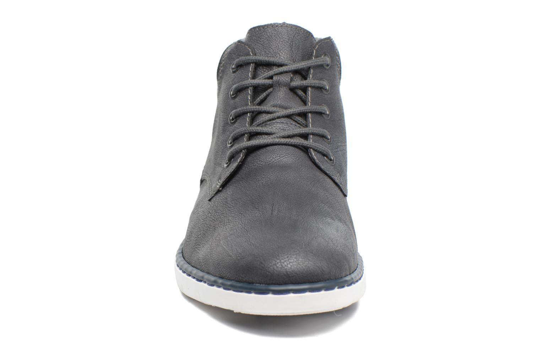 Bottines et boots Rieker Freddy 37520 Gris vue portées chaussures