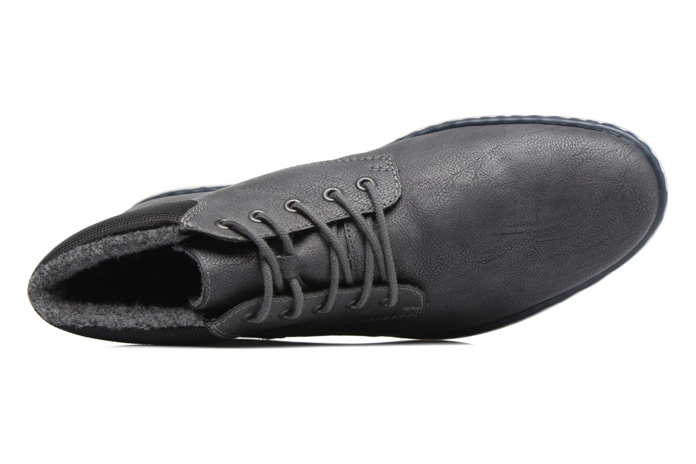 Bottines et boots Rieker Freddy 37520 Gris vue gauche