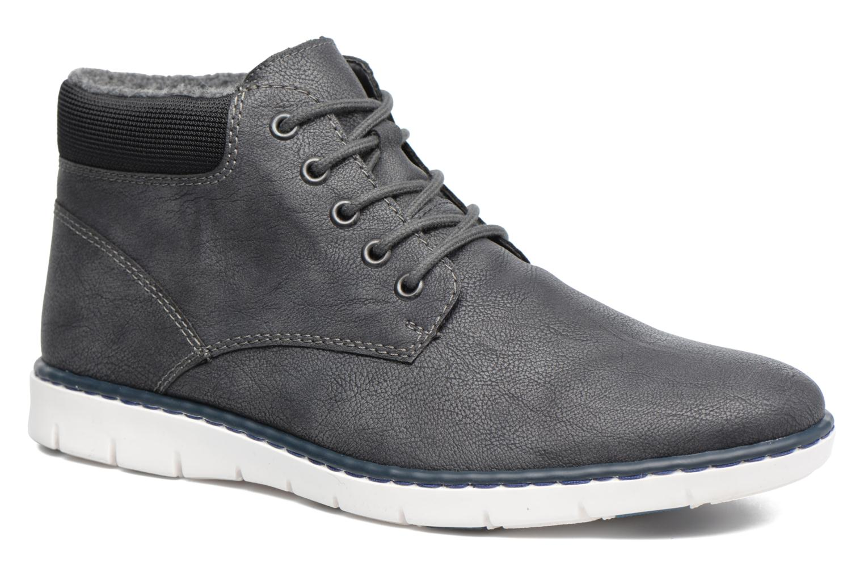 Bottines et boots Rieker Freddy 37520 Gris vue détail/paire