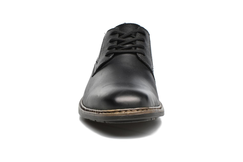 Chaussures à lacets Rieker Marc B1224 Noir vue portées chaussures