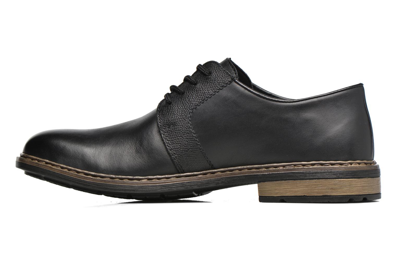 Chaussures à lacets Rieker Marc B1224 Noir vue face