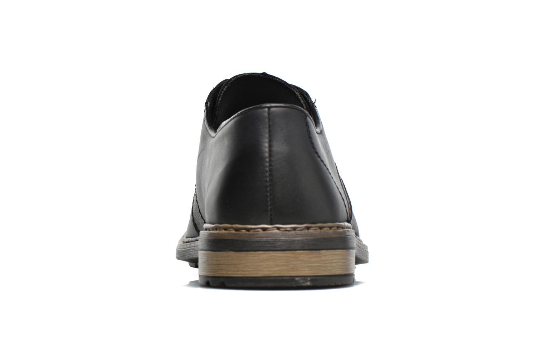 Chaussures à lacets Rieker Marc B1224 Noir vue droite