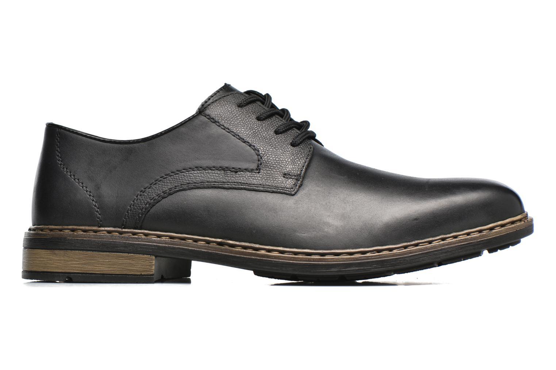 Chaussures à lacets Rieker Marc B1224 Noir vue derrière