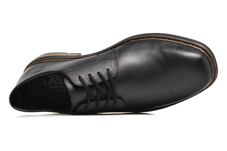 Chaussures à lacets Rieker Marc B1224 Noir vue gauche