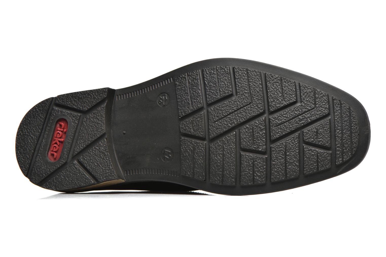 Chaussures à lacets Rieker Marc B1224 Noir vue haut
