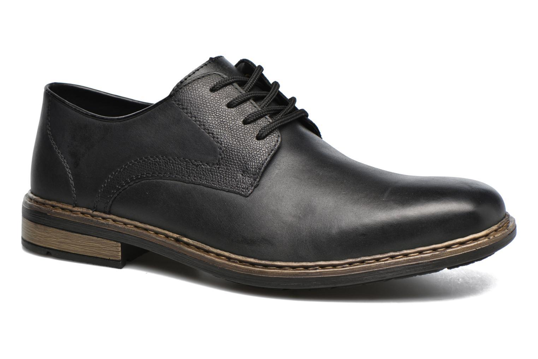 Chaussures à lacets Rieker Marc B1224 Noir vue détail/paire