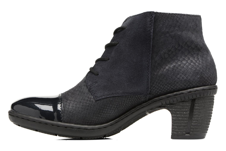 Bottines et boots Rieker Ivy 50241 Bleu vue face