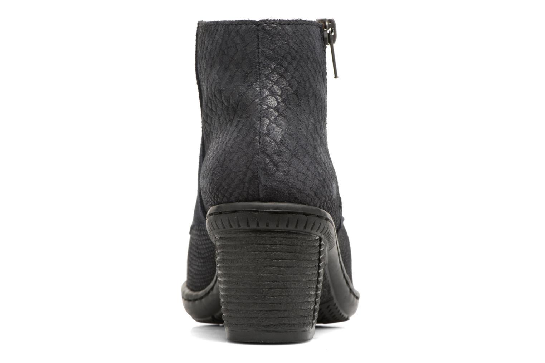 Bottines et boots Rieker Ivy 50241 Bleu vue droite