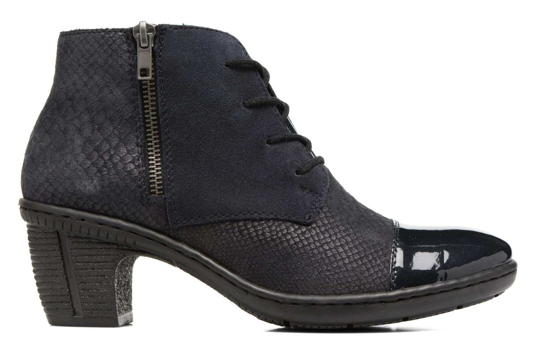 Bottines et boots Rieker Ivy 50241 Bleu vue derrière
